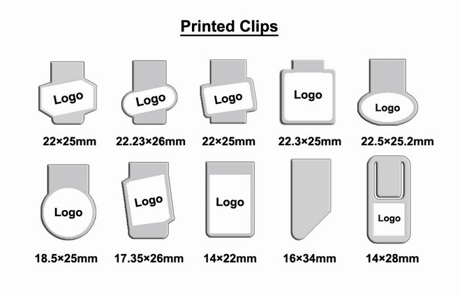 Printed Clips