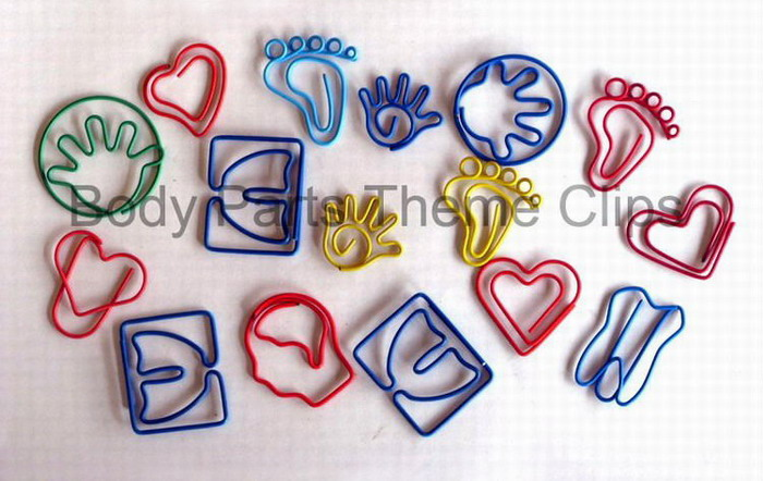 Body Parts&People Paper Clips