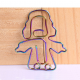 angel shaped paper clips, creative stationery