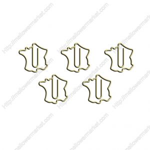 France Map Paper Clips | Cute Bookmarks (1 dozen/lot)