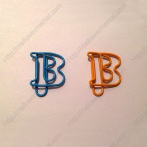 Letter B Paper Clips | Creative Stationery (1 dozen/lot)