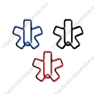asterisk shaped paper clips