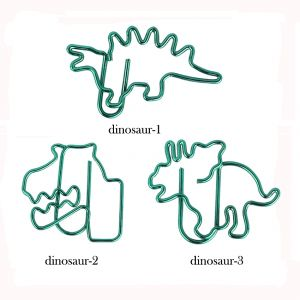 dinosaur shaped paper clips