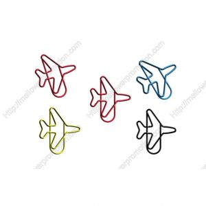 Airplane Shaped Paper Clips | Aircraft Plane Paper Clips | Vehicle (1 dozen/lot)