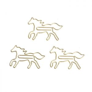 Horse Shaped Paper Clips | Animal Paper Clips | Creative Gifts (1 dozen/lot)