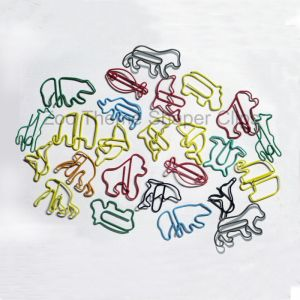 animal shaped paper clips in various outlines