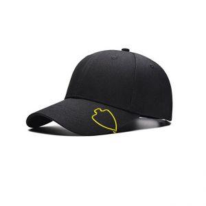 wire hat brim clips in arrowhead outline, arrowhead cap clips
