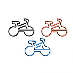 baby bike shaped paper clips