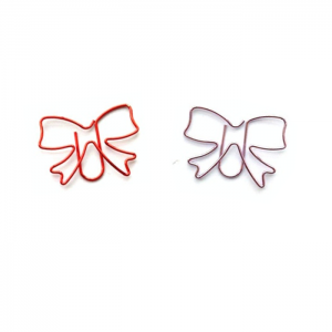 bow shaped paper clips