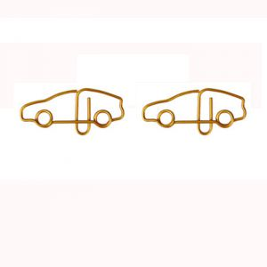 car vehicle shaped paper clips