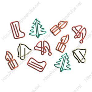 Christmas Decorative Paper Clips | Christmas Gifts (1 dozen/lot)