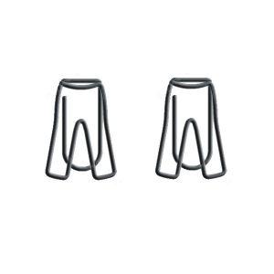 men's jean shaped paper clips
