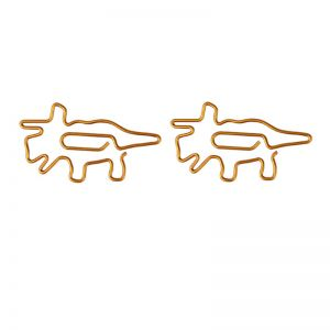 Triceratops,Dinosaur Paper Clips | Animal Paper Clips | Creative Gifts (1 dozen/lot)