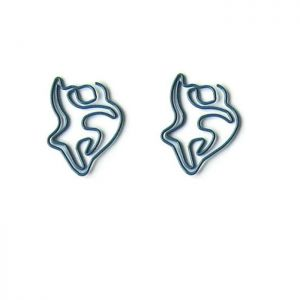 dancer shaped paper clips, dance paper clips