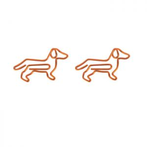 Dog Shaped Paper Clips | Animal Paper Clips | Creative Gifts (1 dozen/lot)