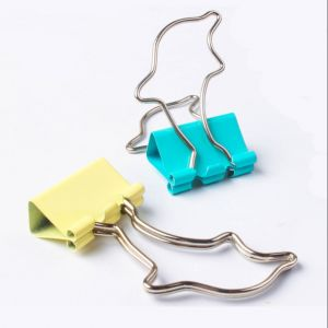 dolphin metal binder clips, dolphin office binder clips