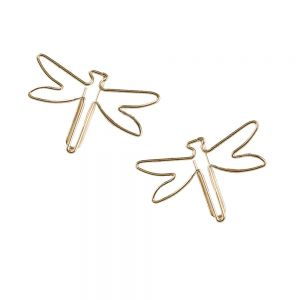 shaped paper clips, dragonfly paper clips, insect paper clips