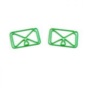 Envelope Shaped Paper Clips | Houseware Paper Clips (1 dozen/lot)