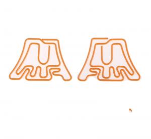 Fujisan Shaped Paper Clips, Mount Fuji Paper Clips, Fujiyama Paper Clips