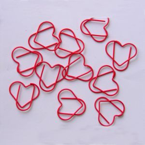 Heart Shaped Paper Clips | Body Parts | Wedding, Love (1 dozen/lot)