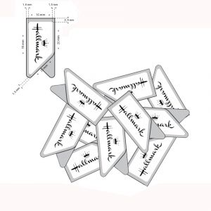 stainless steel paper clips, promotional paper clips in imprint