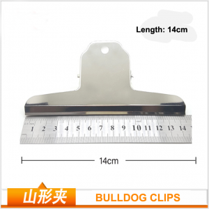 Large Bulldog Clips | Metal Hinge Clips | Stainless Steel Clips