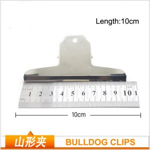 large bulldog clips, metal hinge clips