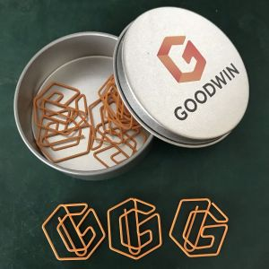 G Logo Paper Clips | Letter Shaped Paper Clips | Promotional Gifts (1 dozen/lot)