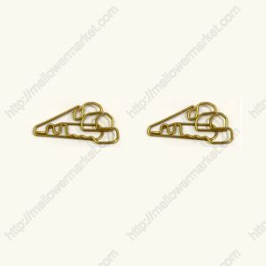 train shaped paper clips, locomotive paper clips