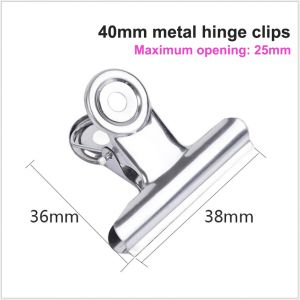 metal hinge clips, stainless steel clips