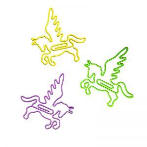 Pegasus Shaped Paper Clips | Animal Paper Clips (50mm;1 dozen/lot)