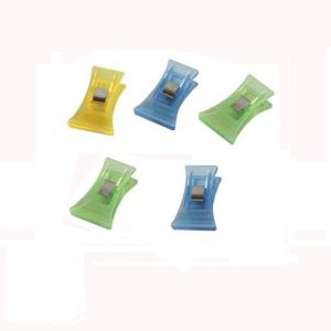 plastic paper clips in axe shapes, promotional paper clips
