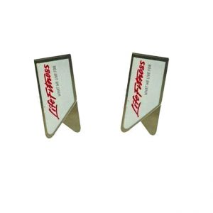 imprinted stainless steel paper clips, metal clips for paper