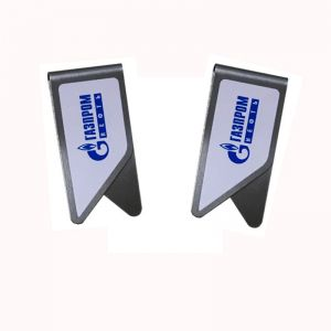 promotional paper clips, imprinted stainless steel paper clips