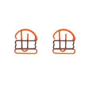 promotional paper clips in hamburger outline, hamburger shaped paper clips