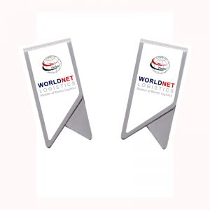Promotional Paper Clips with imprint, Stainless Steel Bookmark Paper Clips