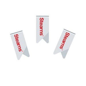 imprinted promotional paper clips, stainless steel paper clips