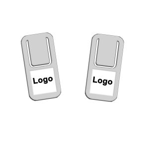 promotional paper clips, printed stainless steel paper clips