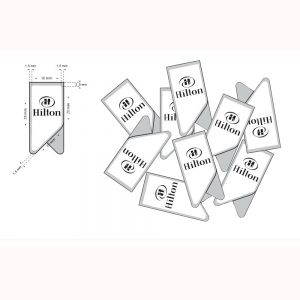 promotional paper clips, stainless steel paper clips in printed logo