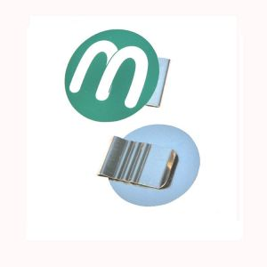 printed stainless steel paper clips, promotional paper clips