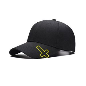 hat clips in the outline of Religious Cross, cross shaped brim clips