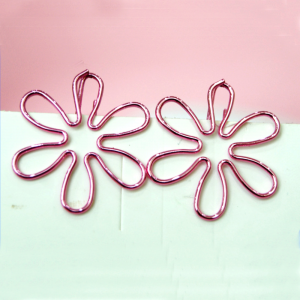 shaped paper clips in Sakura outline, cherry blossom paper clips