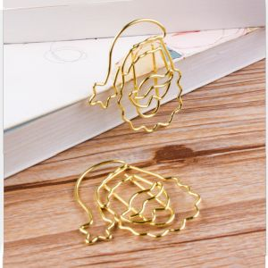 Santa Claus Shaped Paper Clips, Christmas Gifts