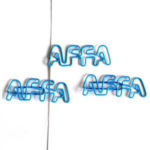 Letters AFFA Paper Clips | Advertising Gifts (1 dozen/lot)