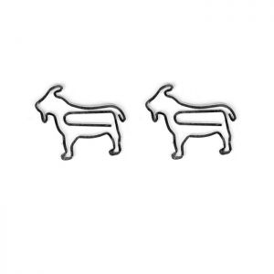 Goat Paper Clips | Animal Paper Clips (1 dozen/lot)