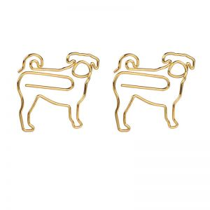 dog shaped paper clips, animal shaped paper clips