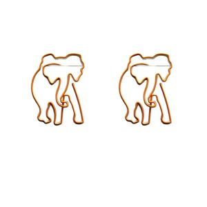 elephant shaped paper clips, business gifts, creative stationery