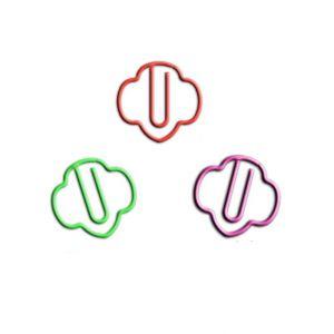 trefoil shaped paper clips, plant paper clips