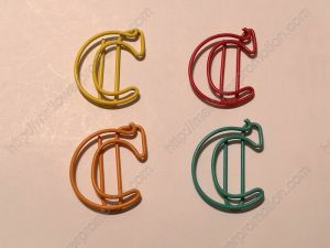 Letter C Paper Clips,Creative Gifts (1 dozen/lot,19*33 mm)