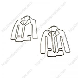 Men's Suit Paper Clips | Coat Paper Clips | Clothes (1 dozen/lot)